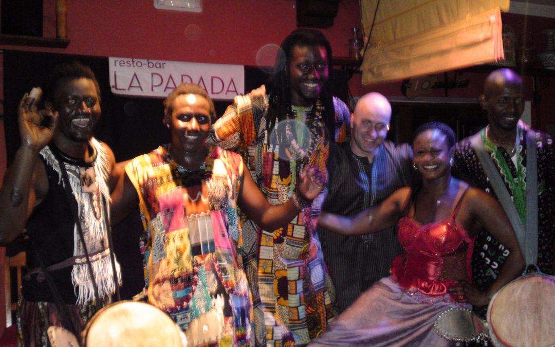 Taller de percusión y danza africana
