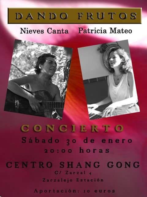 DANDO FRUTOS, CONCIERTO, sabado 30.01.2016, 20:00 hrs.