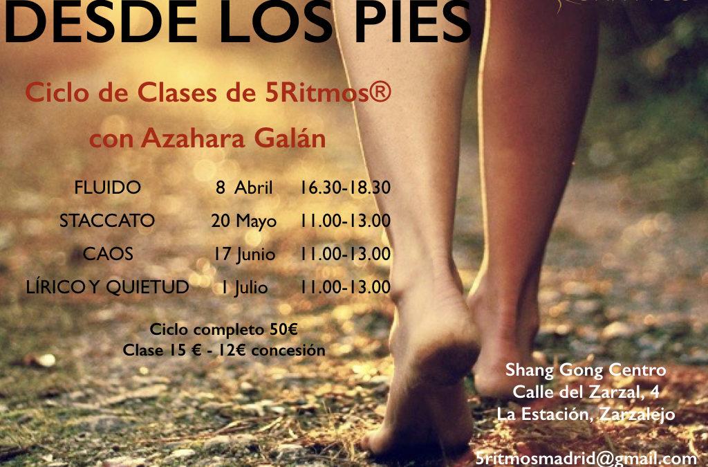 Ciclo de 5 ritmos con Azahara Galán